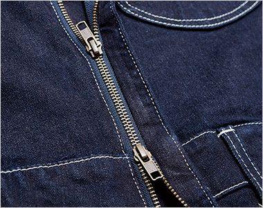 Lee LWU39001 [通年]ユニオンオール(長袖ツナギ)(男女兼用) 上下から開け閉め可能なダブルジッパー