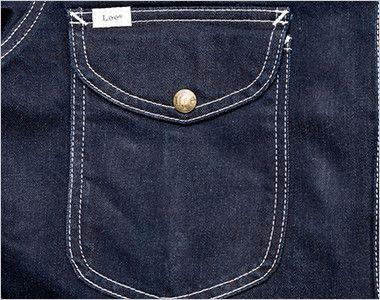 Lee LWU39001 [通年]ユニオンオール(長袖ツナギ)(男女兼用) フラップ付