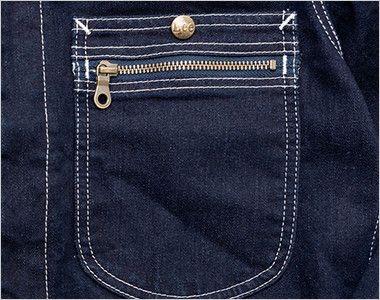 Lee LWU39001 [通年]ユニオンオール(長袖ツナギ)(男女兼用) ジッパー付