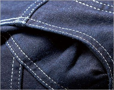 Lee LWU39001 [通年]ユニオンオール(長袖ツナギ)(男女兼用) 内側がメッシュになったアクションプリーツ