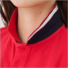 MS3116 LIFEMAX 2WAYカラーポロシャツ(男女兼用) おしゃれな襟裏配色