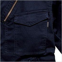 RJ0301 ROCKY フライトジャケット(女性用) 左胸だけペン差しポケットがあり