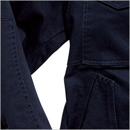RJ0301 ROCKY フライトジャケット(女性用) 腕の上げ下げがしやすい脇下の切り替えデザイン