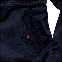 RJ0301 ROCKY フライトジャケット(女性用) 出し入れしやすく、物が落ちにくいポケット