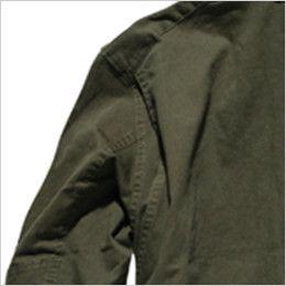 ROCKY RJ0905 ツイルフライトジャケット(男女兼用) 肩回りの動きがスムーズなノーフォーク仕様