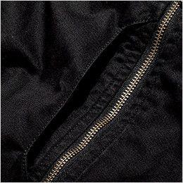 ROCKY RJ0908 ツイルMA-1ミリタリージャケット(男女兼用) ビブポケットは、収納性にも優れた遊び心あふれる縦型デザイン
