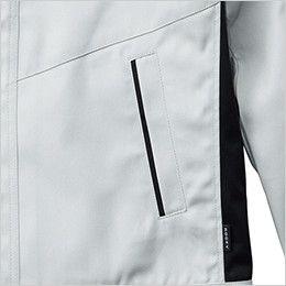 RJ0909 ROCKY ブルゾン(男女兼用) ツイル ポケット付き
