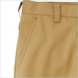 RP6909 ROCKY ノータックカーゴパンツ(男女兼用) ツイル ポケット付き