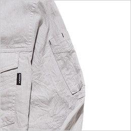 RS4301 ROCKY スタンドカラーシャツ(女性用) ペンなどを収納できるポケット