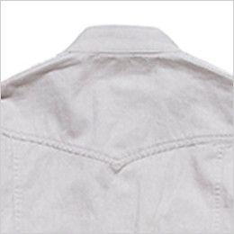 RS4301 ROCKY スタンドカラーシャツ(女性用) おしゃれなヨーク仕立て