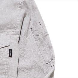 RS4601 ROCKY スタンドカラーシャツ(男性用) ペンなどを収納できるポケット