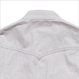 RS4601 ROCKY スタンドカラーシャツ(男性用) おしゃれなヨーク仕立て
