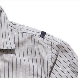 RS4602 ROCKY ワークシャツ(男性用) アレンジしたおしゃれなワンポイント