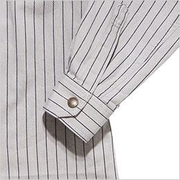 RS4602 ROCKY ワークシャツ(男性用) おしゃれなヴィンテージ感あるボタン