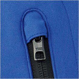 RS4903 ROCKY 長袖トリコットシャツ(男女兼用) ニット 作業中の商品や建材などへの傷付き防止のスライダーキャップ