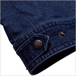 ROCKY RV1901 デニムフライトベスト(男女兼用) 腰回りのサイズ調整が可能な裾アジャスター付き