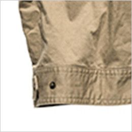 ROCKY RV1902 ツイルフライトベスト(男女兼用) 腰回りのサイズ調整が可能な裾アジャスター付き