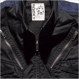 ROCKY RV1903 フライトベスト コンビネーション(男女兼用) ファスナーポケット