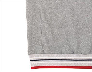 TJ0800U ナチュラルスマイル トレーニングジャケット(男女兼用) パネルの切り替え