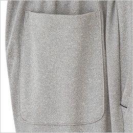 TP6801U ナチュラルスマイル ジャージ ハーフパンツ(男女兼用) ポケット