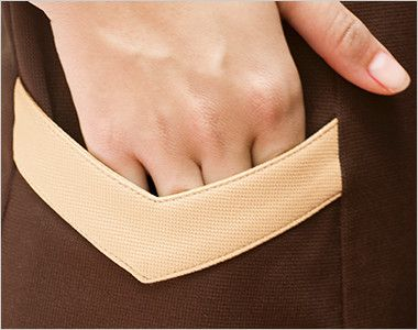 00105 BONUNI(ボストン商会) ニットワッフルシャツ/半袖(女性用) 便利なサイドポケット