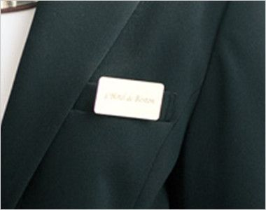 00106 BONUNI(ボストン商会) 七分袖/ニットワッフルジャケット(女性用) ポケット