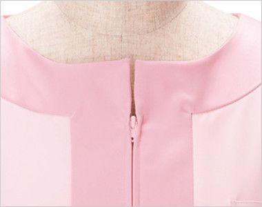 00113 BONUNI(ボストン商会) チュニックシャツ(女性用) 顔周りをすっきりみせるデザイン
