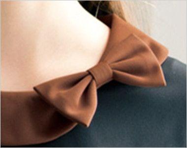 00123 BONUNI(ボストン商会) カットソー/半袖(女性用) 襟元のリボンが印象的