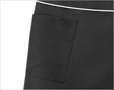 00909 BONUNI(ボストン商会) ラップエプロン(女性用) ポケット
