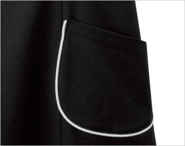 00911 BONUNI(ボストン商会) エプロンドレス(女性用) ポケット