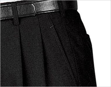 01160-02 BONUNI(ボストン商会) ツータックスラックス(男性用) ポケット