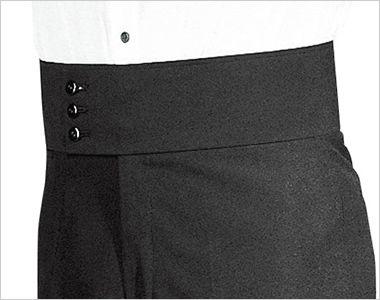 01160-03 BONUNI(ボストン商会) ノータックハイウエストスラックス(男性用) コーラルクロス