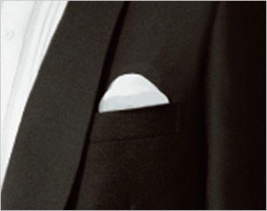 01220-09 BONUNI(ボストン商会) タックスコート(男性用) ショールカラー ポケット