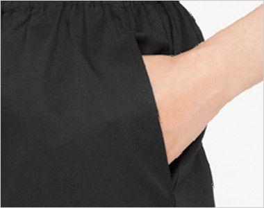 04710 BONUNI(ボストン商会) 七分丈パンツ(女性用) ポケット