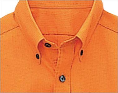 08932 BONUNI(ボストン商会) ボタンダウンシャツ/半袖(男女兼用)ワッフル ボタンダウン