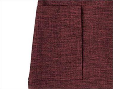 09159 BONUNI(ボストン商会) 和風前掛け(男女兼用) 扱き染 ポケット