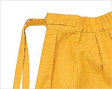 09701 BONUNI(ボストン商会) 作務衣下衣(男女兼用) 段落ち三者混 前ヒモ