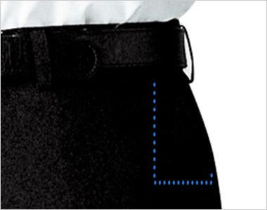 12108 BONUNI(ボストン商会) アジャスターパンツ(ノータック)/股下フリ(男性用) ポケット
