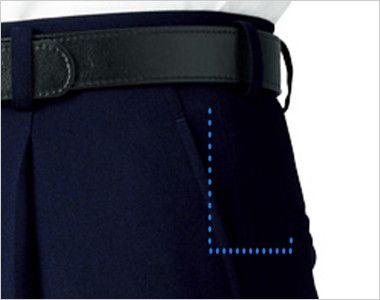 12109 BONUNI(ボストン商会) ワンタックスラックス(男性用) ポケット