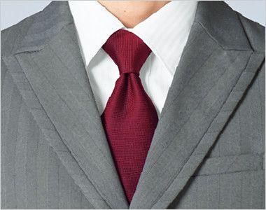 15115 BONUNI(ボストン商会) ベスト(男性用) グレースヘリンボーン ピークドラペルの尖った襟元
