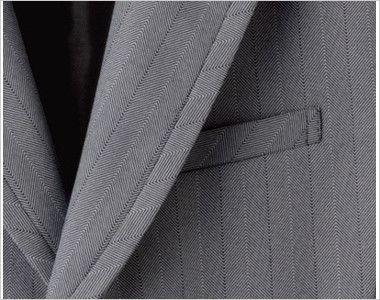 15115 BONUNI(ボストン商会) ベスト(男性用) グレースヘリンボーン ポケット