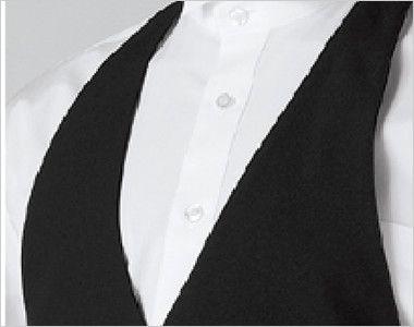 15117 BONUNI(ボストン商会) カマーベスト(男性用) フォーマルな襟元