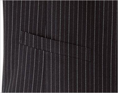 15121 BONUNI(ボストン商会) ベスト(男性用) ストライプ ポケット