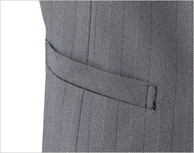 15215 BONUNI(ボストン商会) ベスト(女性用) グレースヘリンボーン ポケット