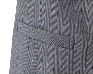 15216 BONUNI(ボストン商会) ベスト(女性用) グレースヘリンボーン ポケット