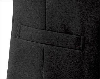15301 BONUNI(ボストン商会) フォーマル ベスト(男女兼用) ノーカラー ポケット