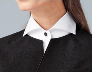 15302 BONUNI(ボストン商会) フォーマル ベスト(男女兼用) 丸襟ノーカラー クラシカルな丸襟