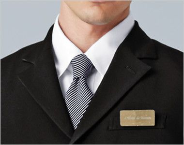 15303 BONUNI(ボストン商会) フォーマル ベスト(男女兼用) 上品な印象の襟元