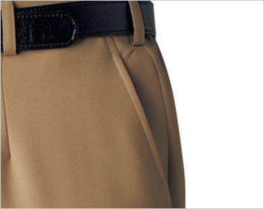 22302 BONUNI(ボストン商会) ノータックストレッチパンツ(男女兼用) ポケット