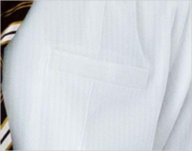 24112 BONUNI(ボストン商会) 長袖シャツ(男性用) ドビーストライプ ポケット